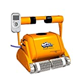 Dolphin Dynamic PRO X 2 Professional Electric Gyro Pool Cleaning Robot with Foam Brushes for 25 m Pools