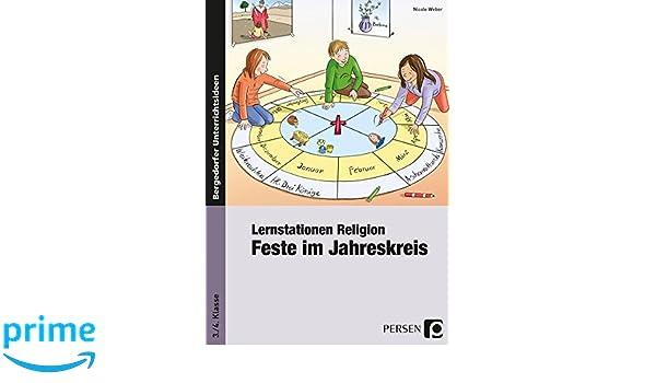 Lernstationen Religion Feste Im Jahreskreis 3 Und 4 Klasse