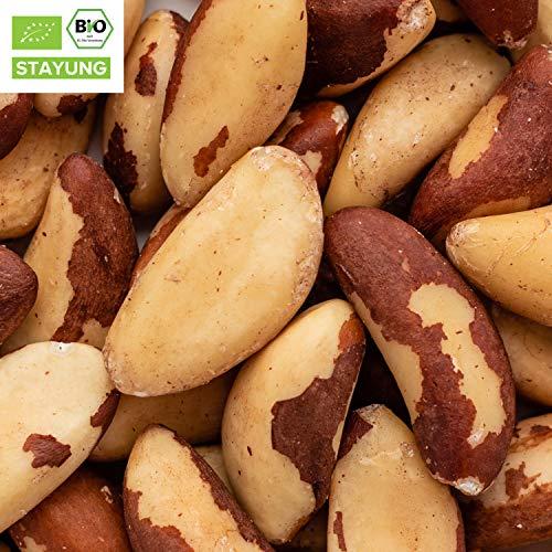 2000g Bio Paranüsse ganz | Paranusskerne | 2 kg | ✔ aus Bolivien ✔ plastikfrei verpackt ✔ unbehandelt ✔ 100% Naturprodukt ✔ wiederverschließbar ✔ Rohkost | 100% Bio | STAYUNG