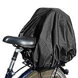 NICE 'n' DRY Abdeckung und Regenschutz für Fahrradkorb XXL schwarz