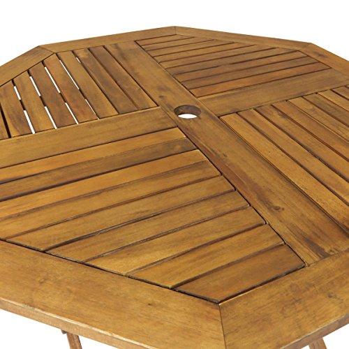 Charles Bentley Garden Wooden Furniture Hardwood Octagonal Table