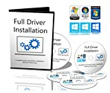 RyanJackcouk | Full Driver Installation Pack | Automatic Driver Iinstallation for your PC | Runs on all systems Windows 10, 8.1, 7, Vista & XP | Full Offline Version 5 DVD's