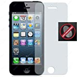 TECHGEAR® **PACK OF 2** -Apple iPhone 5 5s 5c ANTI GLARE / MATTE Screen Protector With Cleaning Cloth & Application Card