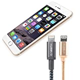CABBRIX® Apple Lightning Kabel Daten- und Ladekabel [2-Pack] für iPhone X 10 8/8 Plus 5 5s 5c SE 6...