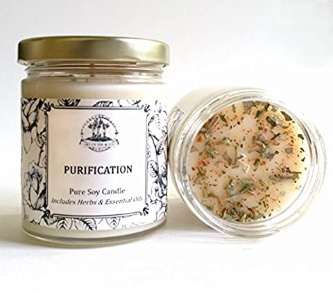 Purification Soy Candle for Negativity & Unwanted Energy