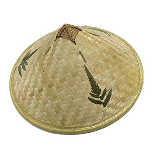 �dchen Bambus Bauernkostüm Asiatischer Tanz Klassische Retro Hut (Bauer Tanz Kostüm)