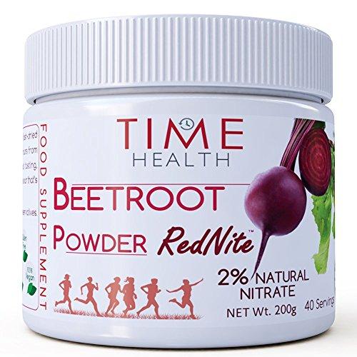 Rote-Bete-Saft-Pulver RedNite® - 2% natürliches Nitrat (200g) (Saft Pulver)