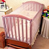 Mosquito Nets 4 U Fitted INSECT PROTECTION COT NETS FOR BABIES Baby Bed Canopy - Cot Accessories for Baby Girls and Toddlers