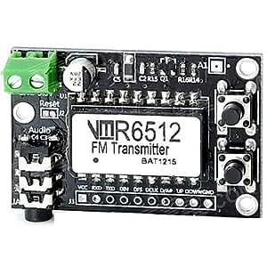 Get VMR6512 Hi-Fi FM Transmitter DIY Evaluation Module (EVM) Board