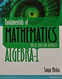 Best Algebra Books - Fundamentals of Mathematics For JEE Main and Advanced Review