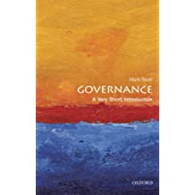 Governance: A Very Short Introduction (Very Short Introductions) (English Edition)