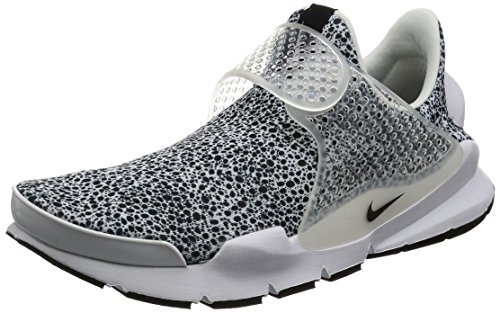 Nike Sock Dart QS (Safari Pack) 942198-100, Größe:EUR 42.5 (UK 8) (Socks Elite Nike Pack)