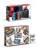 Nintendo Switch Konsole Neon-Rot/Neon-Blau + Labo: Toy-Con 01 Multi-Set