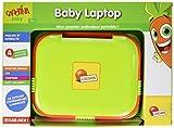 Lisciani–f49660–Baby Laptop–Rot/Grün