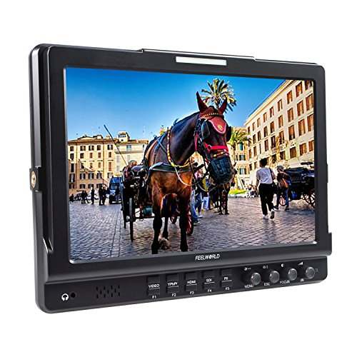Deals For FEELWORLD 10.1 inch IPS 3G-SDI Camera Monitor HD-SDI Video Monitor HDMI&SDI Output and Input along with Build in Speaker and Earphone for Professional Field Shot Online