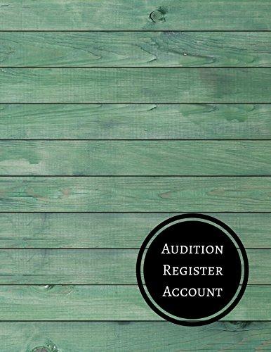 Audition Register Account: Audition Log por Journals For All
