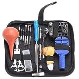 Set di attrezzi goodbenemall 16 pezzi orologio Repair Kit Caso supporto posteriore Pry Opener orologi strumenti