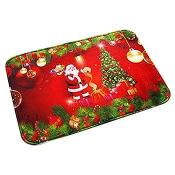 Songrong Navidad Alfombra...