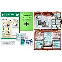 """Erste-Hilfe-Koffer M6 PLUS DIN/EN 13169 -Paket 2- für Betriebe ab 50 Mitarbeiter inkl. Verbandbuch & AUSHANG""""Erste... preisvergleich bei billige-tabletten.eu"""