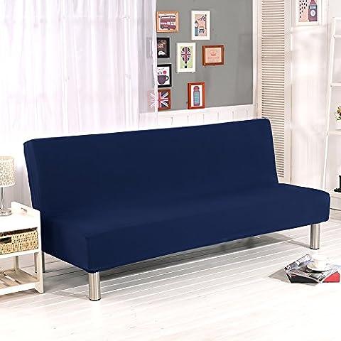 Sundlight housse de canapé stretch universelle pour maison bureau hôtel restaurant apte à canapé pliable sans bras 180-210 cm-A