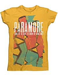 Official Paramore - Sometimes Pattern - Ladies T Shirt