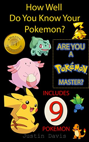 Which Pokemon Master are You?: Includes Pikachu, Charmander, Squirtle, Bulbasaur, Caterpie, Weedle, Pidgey and Ratta (Are You A Pokemon Master? Book 1) (English Edition) (Pokemon Weedle)