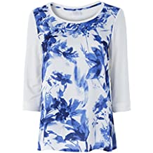 CONTE OF FLORENCE T-Shirt Donna NEWANNE Print MainApps b6092b03341