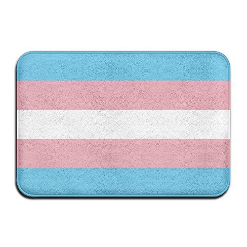 Transgender Pride Flagge Schmutzfangmatten 4060cm