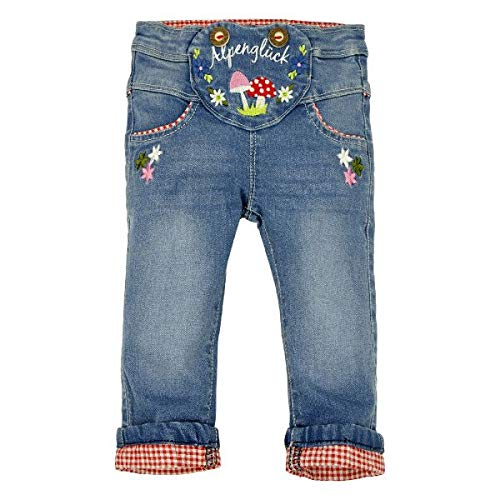 BONDI Baby Mädchen Trachten-Jeans Artnr. 86016 Größe 68
