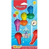 MapedColor'Peps mijn eerste Mijn eerste (leeftijd 1+) Baby Jumbo Wax Crayons