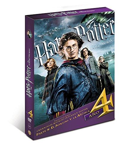 Harry Potter Y El Cáliz De Fuego. Nueva Edición Con Libro [DVD]