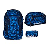 Satch MATCH by Ergobag - 3tlg. Set Schulrucksack - Blue Crush