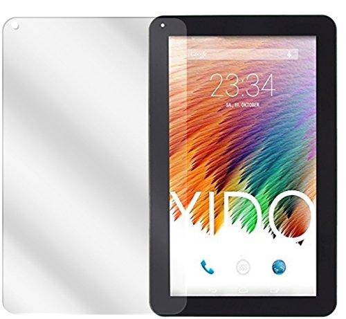 dipos I 2X Schutzfolie klar passend für XIDO Tablet X110 Folie Bildschirmschutzfolie