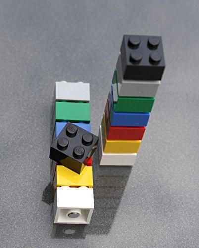 Magnet-Bausteine für Pinnwand, Magnettafel oder Kühlschrank / Lern-Magnete, Neodym-Magnete, bunt, 14 Stück