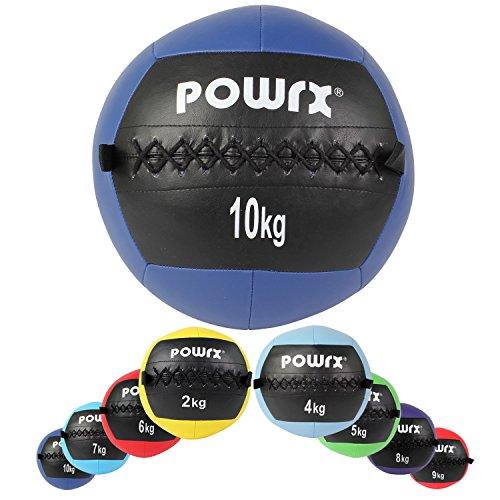 Wall ball palla medica 2 - 10 kg - (10 kg / (2 Spugna Palle)