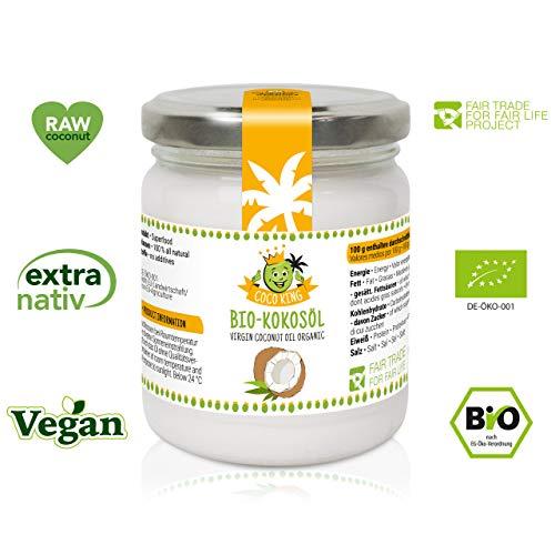 Coco King Bio Kokosöl Extra Nativ Vegan 180 ml
