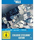 The Walk - 3D Version (2 Disc)  Lenticular Steelbook [3D Blu-ray]