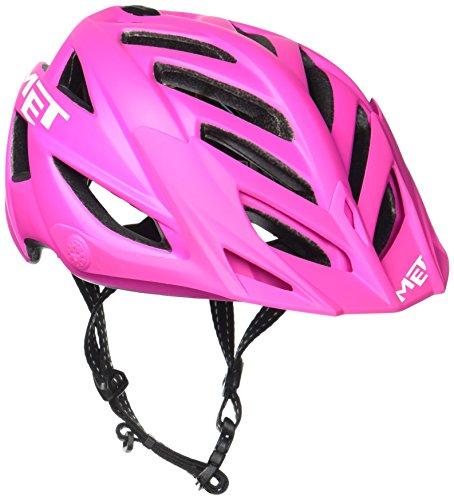 MET Fahrradhelm Terra Matt, Pink/Cyan, 54-61 cm, 3HELM91UNPK