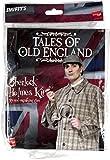Smiffys Déguisement Homme, Kit de Sherlock Holmes, Histoires de la vieille Angleterre, avec pipe et loupe, Couleur: Brun, 30370