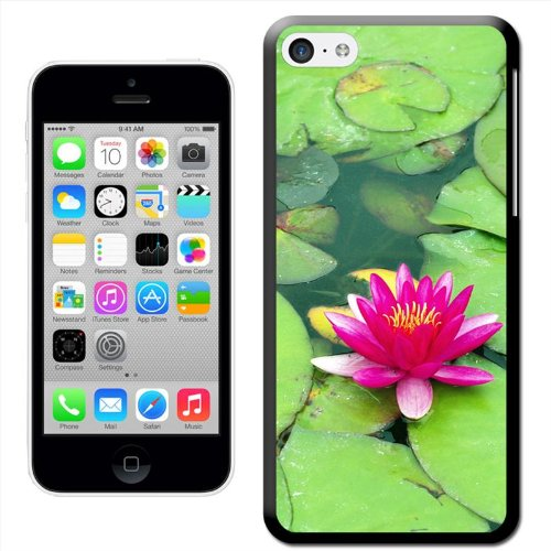 Fancy A Snuggle 'Field of Red Tulips' Hard Case Clip On Back Cover für Apple iPhone 5C Lotus Flower