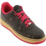 Nike Men's Air Force 1 07 Low Premium Southern California - SoCal Edition (Black/Cerise)-11.5