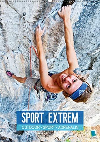 drenalin - Sport extrem (Wandkalender 2020 DIN A2 hoch): Abenteuer in extremen Lagen: mountainbiken, bouldern, skydiving (Monatskalender, 14 Seiten ) (CALVENDO Sport) ()