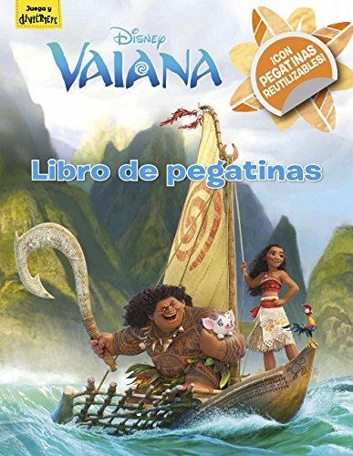 Vaiana. Libro de pegatinas (Disney. Vaiana) por Disney