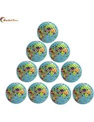 marketboss delicado Tellurion pelotas de golf Enlaces con construcción de mapa del mundo con doble 75% fuerte resistencia Fuerza Gran bola de larga distancia Gran Regalo Para Daddy Grandpa Amigos y bolas de coleccionista
