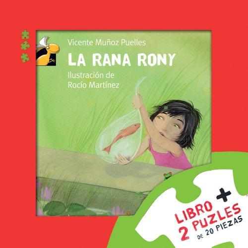 Caja Leo y Juego: La rana Rony (Librosaurio) por Vicente Muñoz Puelles