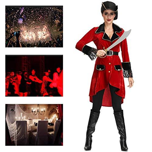 JH&MM Halloween Kostüm Damen Pirate Devil Set Cosplay Maskerade - Kostüm Fee Pirate