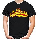 The Wanderers Männer und Herren T-Shirt | Spruch Rockabilly Kult Geschenk | M1 (XXXXL, Schwarz)