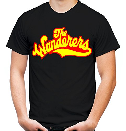 The Wanderers Männer und Herren T-Shirt | Spruch Rockabilly Kult Geschenk | M1 (XXXL, (Kostüme Kult Film Ideen)
