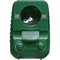 AngLink Solar Katzenschreck Ultraschall abwehr mit Batteriebetrieben und Blitz - Wetterfest - Hundeschreck, Marderschreck, Waschbären, Tierabwehr [Neuste Upgrade-Version]