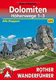 **Dolomiten Hohenwege 1-3